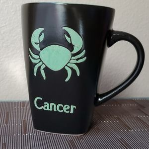 Zodiac Cancer Stoneware Mug
